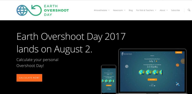 EarthOvershoot