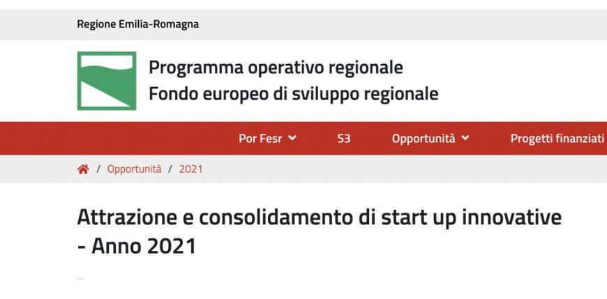 Bando-Startup-Innovative-ER